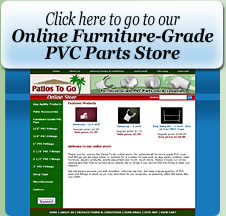 Online PVC Patio Furniture Parts Store